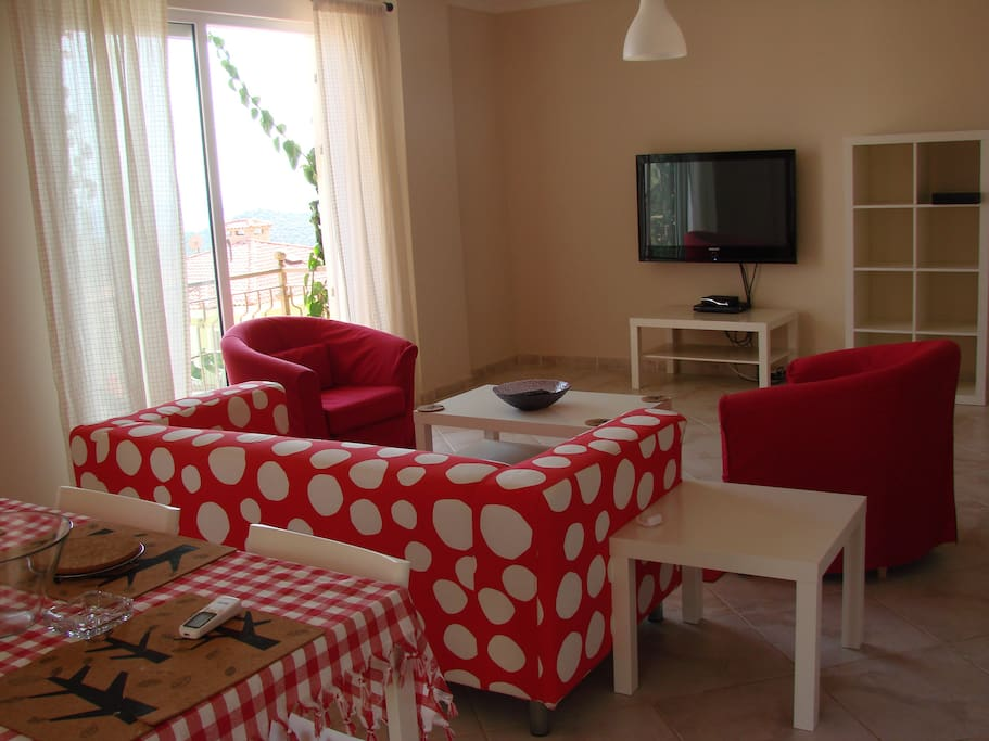 Nice flat with sea view for4 people