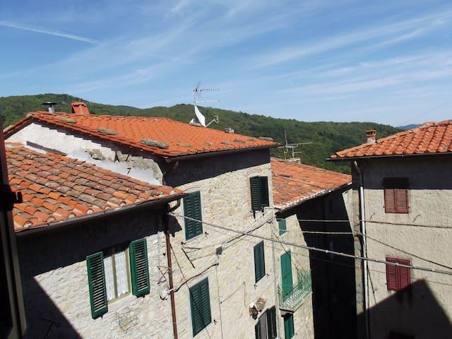 Quiet Tuscan Village Home - Boveglio - Apartment