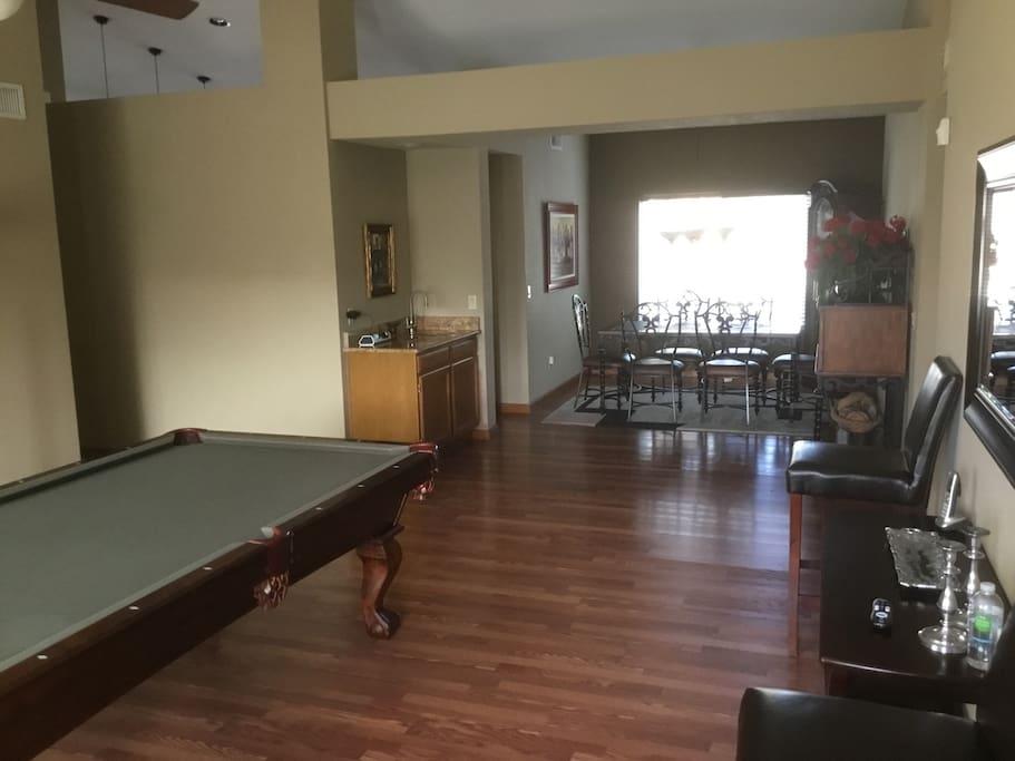 Play room DIning room