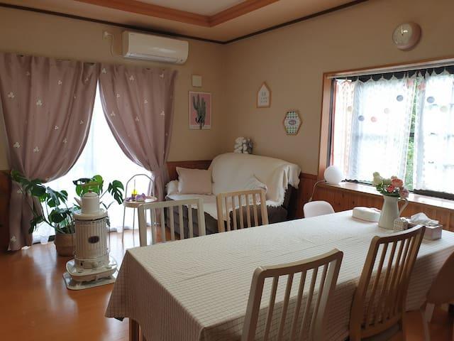KAME HOUSE (카메하우스) 1층 다다미방(최대4인) カメハウス1階畳部屋(最大4人)