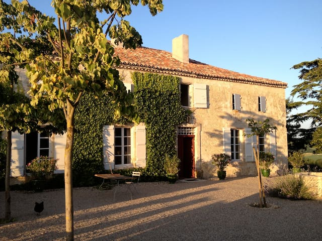 Gascony magic! Stunning views! - Espiens - Rumah