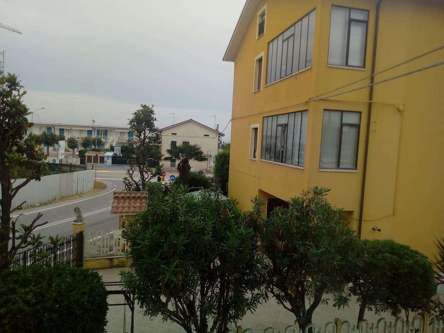 Vista mare dall'appartamento
