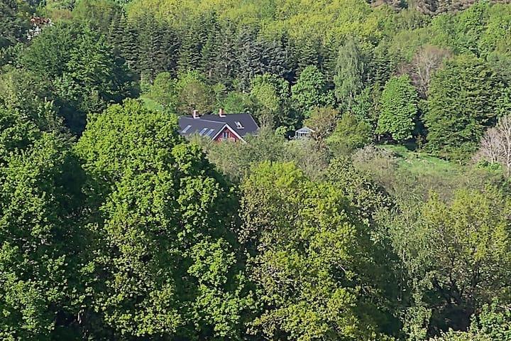 Cosy accommodation located in unique nature