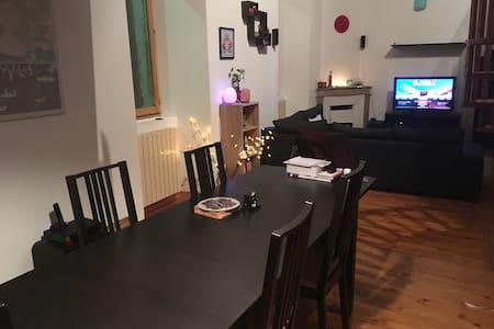 Chambre 2 personnes dans un appartement - La Voulte-sur-Rhône