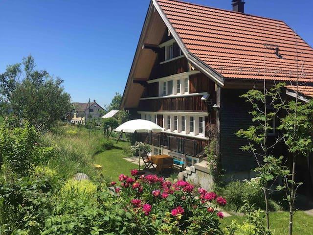 Gemütliches Appenzeller Holzhaus