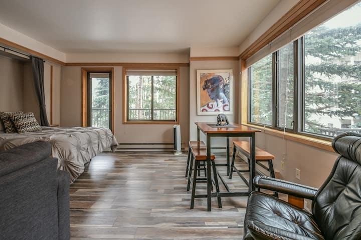 Remodeled Studio at the Base area -  Slopeside 2730 Walk to Slopes