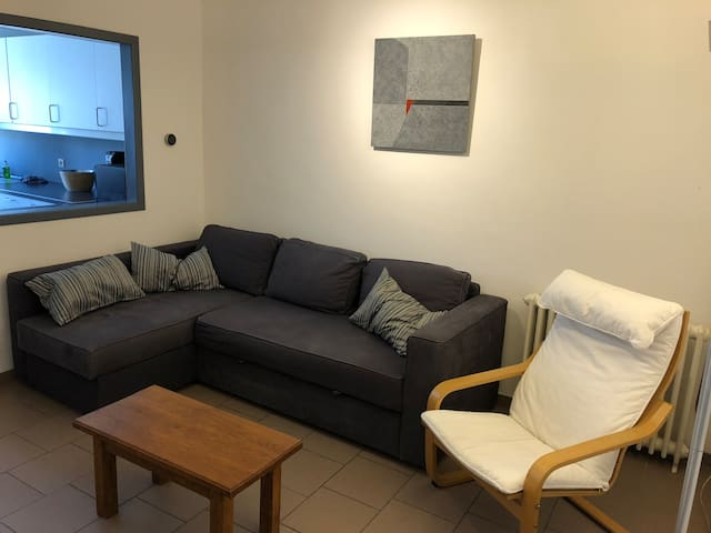 Cosy 2 bedroom apartment near Charleroi-Airport