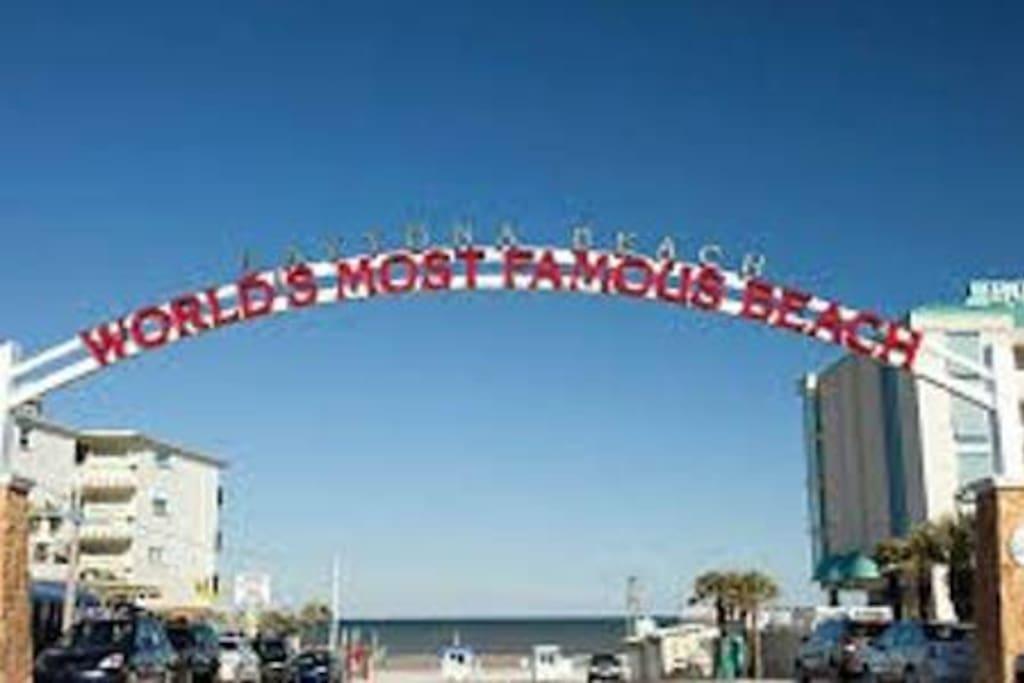 Welcome to Daytona Beach