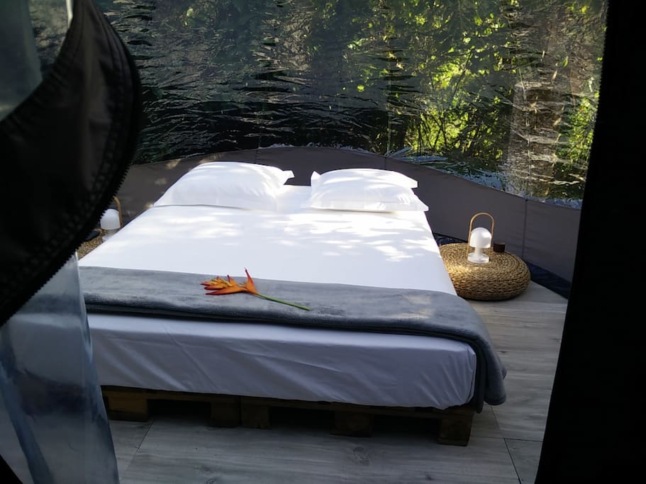 logement insolite guadeloupe maisons organiques louer trois rivi res basse terre guadeloupe. Black Bedroom Furniture Sets. Home Design Ideas