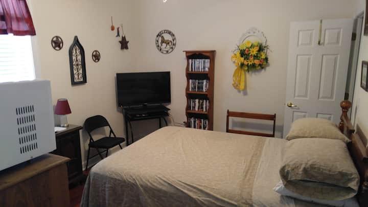 Private Bedroom & Bath