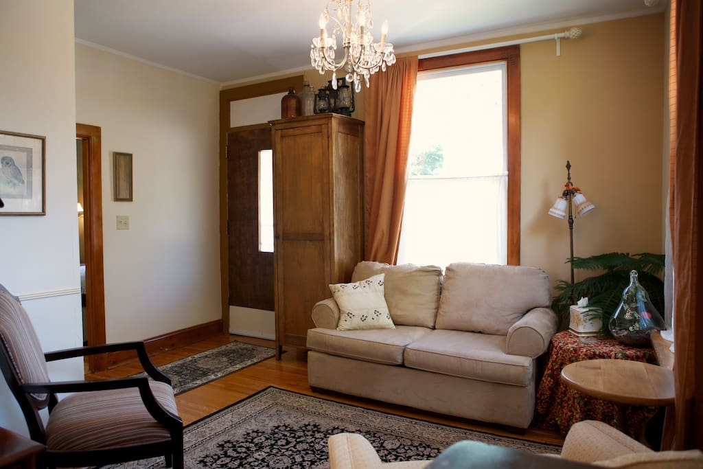 Sitting Room with separate entry