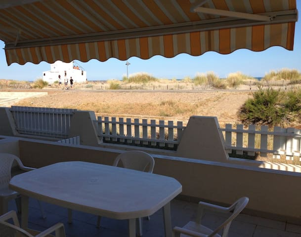 Beautiful sea front apartment - Marseillan - Appartement