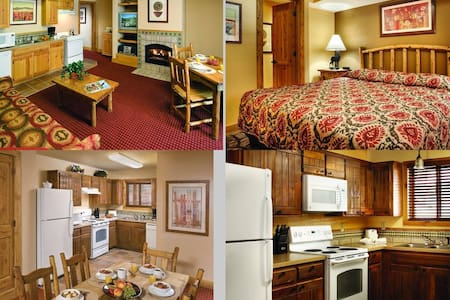 2 Bed Wyndham Red River, NM - Apartment