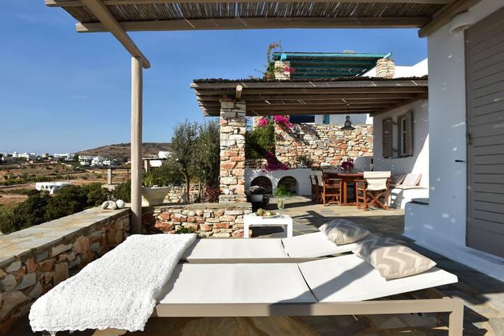 Luxury Villa Kallisti, great view - Agkeria - Hus