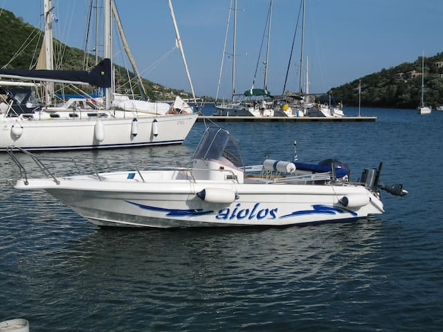 Hyperion. Speedboat for rent Sivota Lefkada