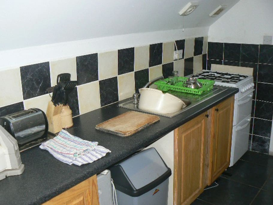 kitchen/fully equipped