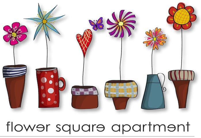 Flower Square Central Apartment