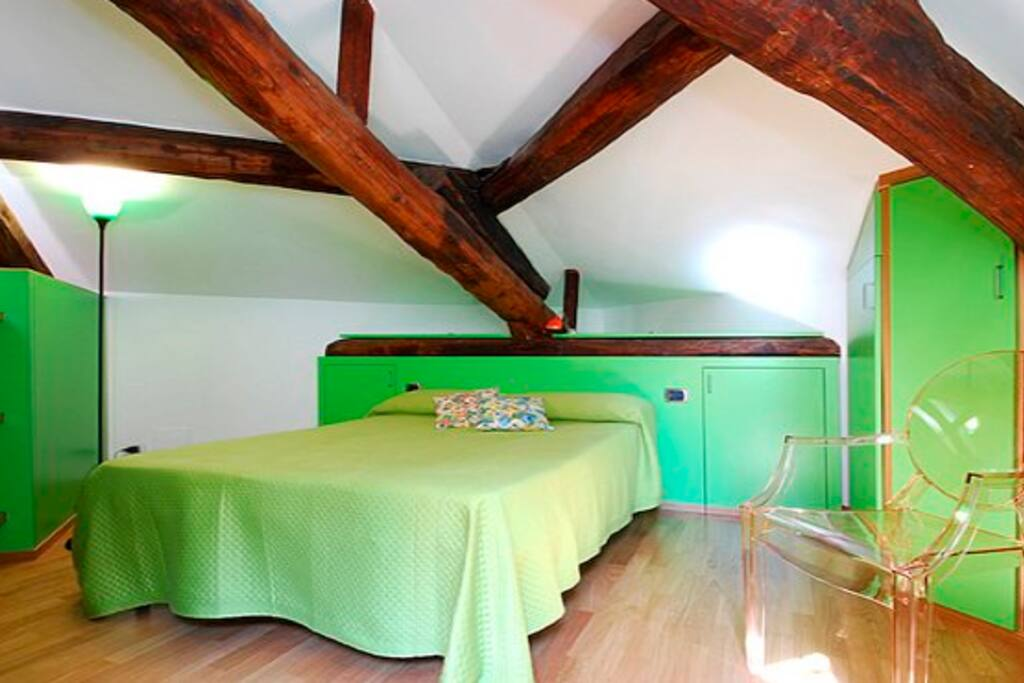 Wonderful loft in Liberty style Bld