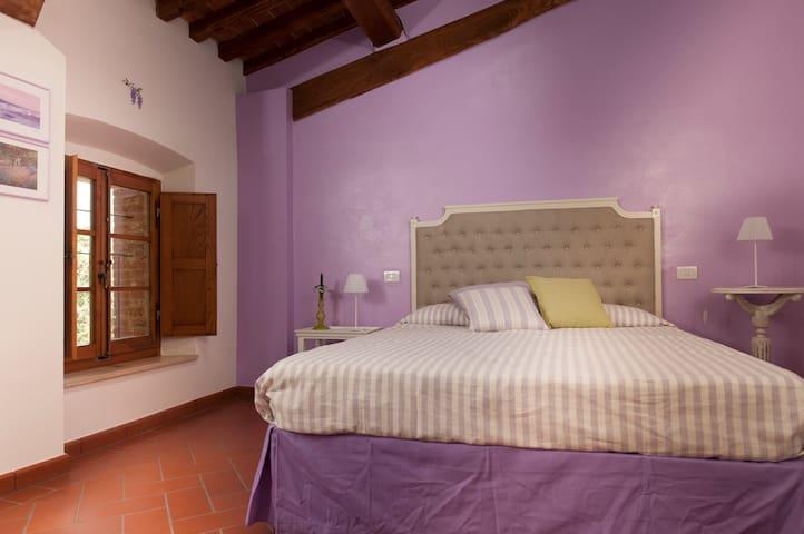 Antico Granaione BB Wisteria Room - Serre di Rapolano - Inap sarapan