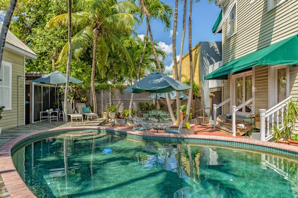 Island Pearl pool and deck