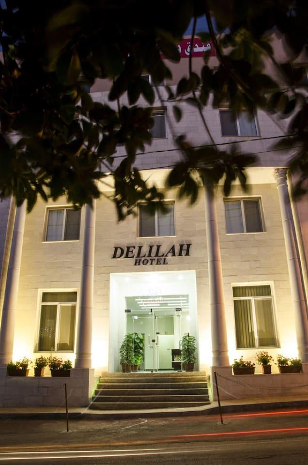 Delilah Hotel Entrance