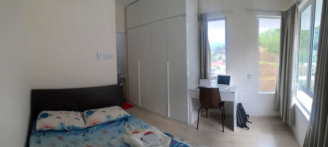 Cosy, secure, and private apartment - Kota Kinabalu - Lägenhet