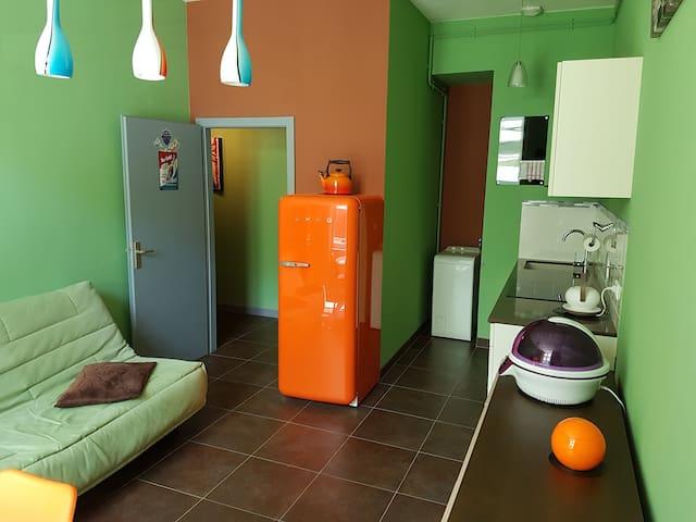 Appartement de style moderne situé en plein centre