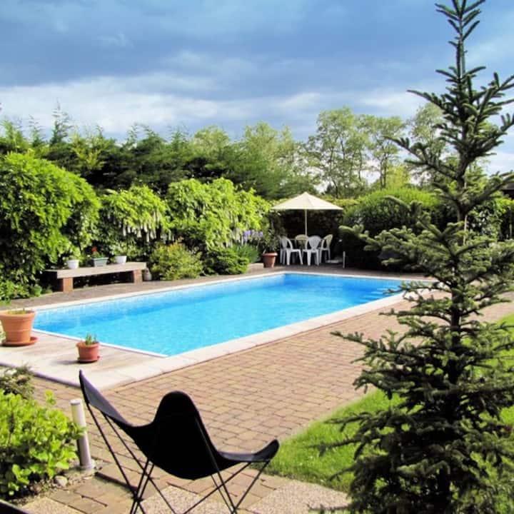 LE KLAUSER 3 chambres, cuisine, piscine chauffée