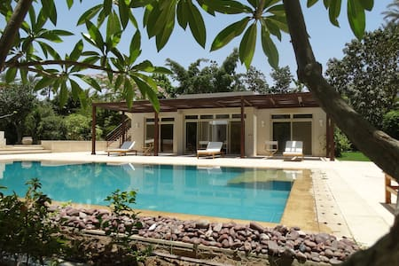 Guest/Pool House Overlooking Abu Sir Pyramids