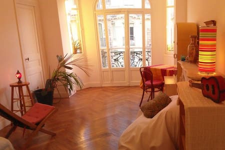 Quiet room near the train station - Nice - Apartment