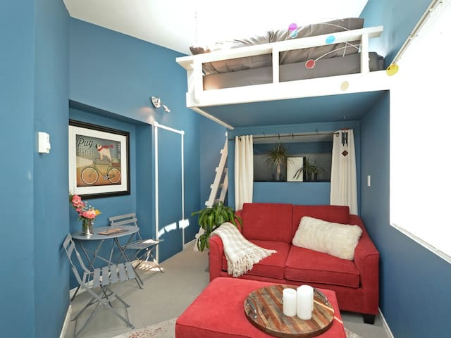 Skylight Loft in James Bay, Victoria, B.C.