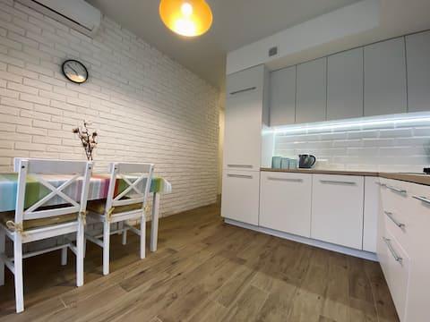 Scandinavian apartment на Марсельской