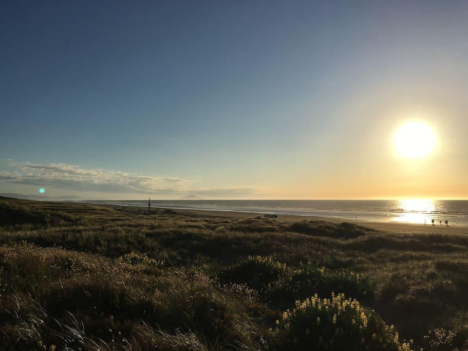 Waitarere Beach sunset