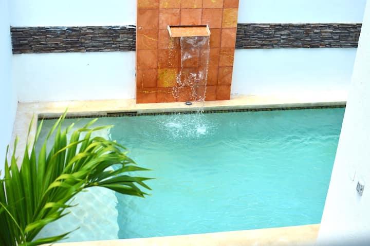 Casa Chujuk con piscina