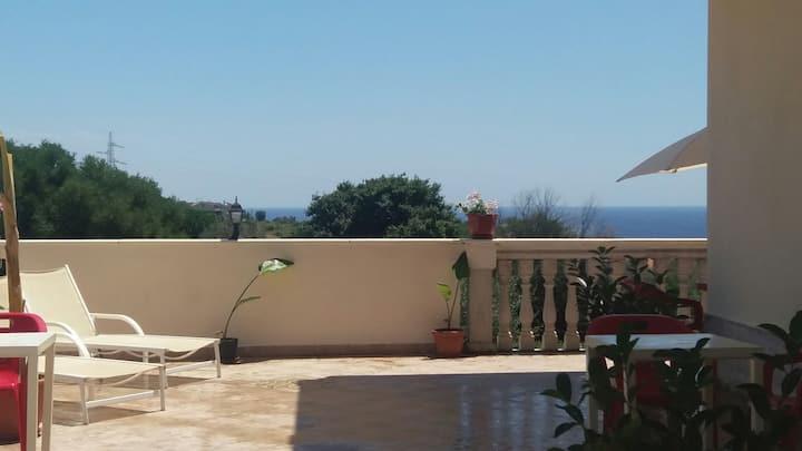 Villa il  Belvedere stanza Beige vicino  Taormina