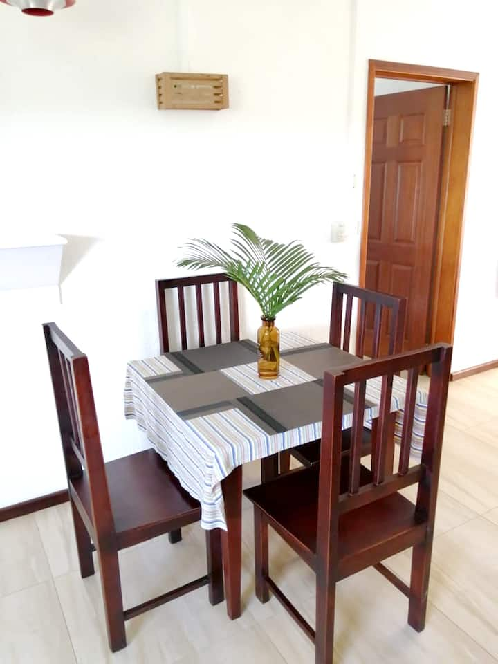 Apartment with one bedroom in Pereybere, with shared pool, enclosed garden and WiFi - 500 m from the beach