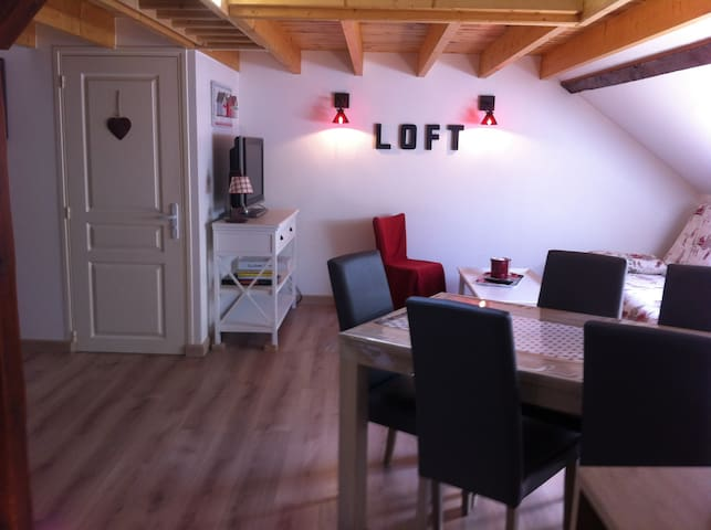 Appartement de charme classé 3* en centre ville - Le Mont-Dore - Huoneisto