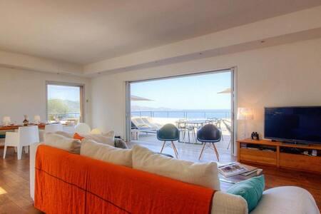 Villa contemporaine de standing  vue panoramique