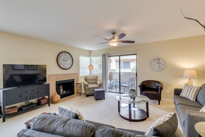 Poolside Ground Floor Condo in Gated Scottsdale Community!