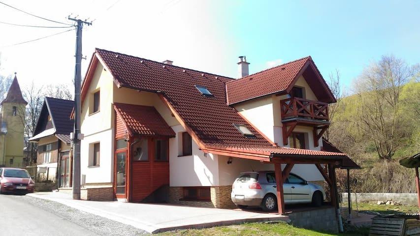 Žltý domček v krásnej prírode Pienin - Lechnica - Dům