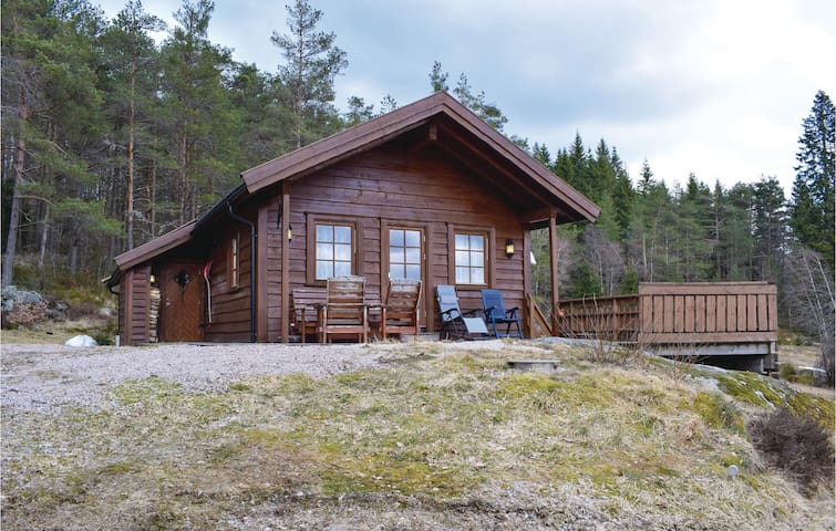 Holiday cottage with 3 bedrooms on 80m² in Konsmo
