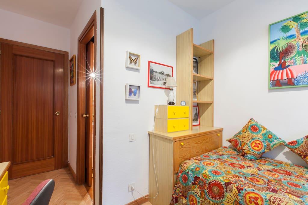 Bedroom from interior