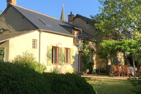 Splendid holiday home with rural garden in culturally rich France