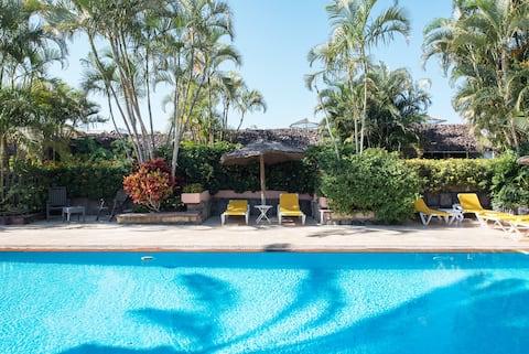 Quiet Picturesqe Banana plantation & HEATED pool 4