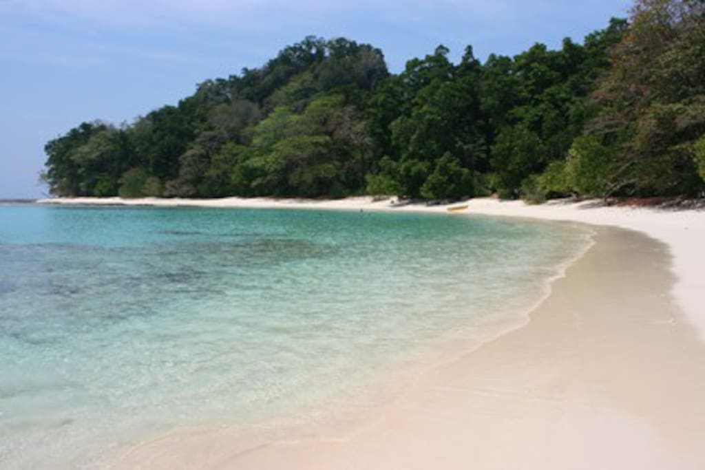 Beach No 3 - 30 secs from our hut