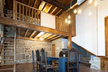 Apartamento medieval con calefaccion y desayuno - Ribadavia