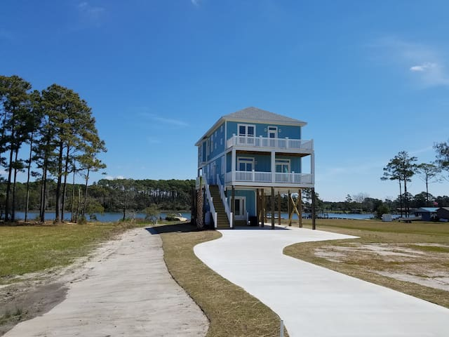 Boating Family Paradise in Beaufort - 보퍼트 - 단독주택