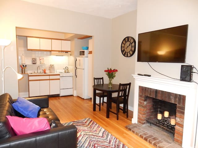 Charming 1 BR studio on renowned Beacon Hill
