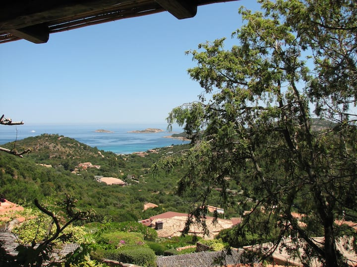 House with wonderful seaview in Costa Smeralda