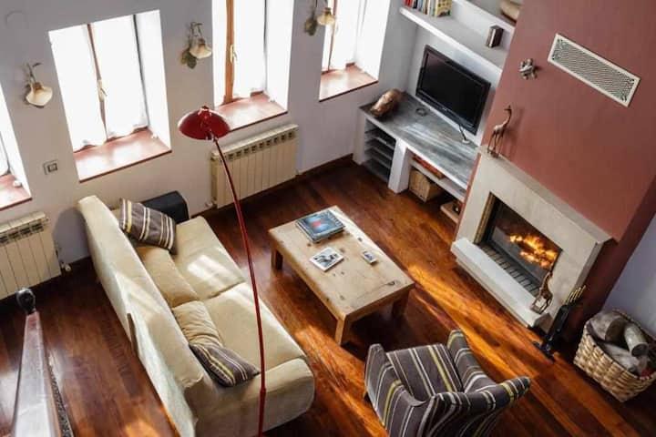 Acogedor apartamento rural para escapada tranquila